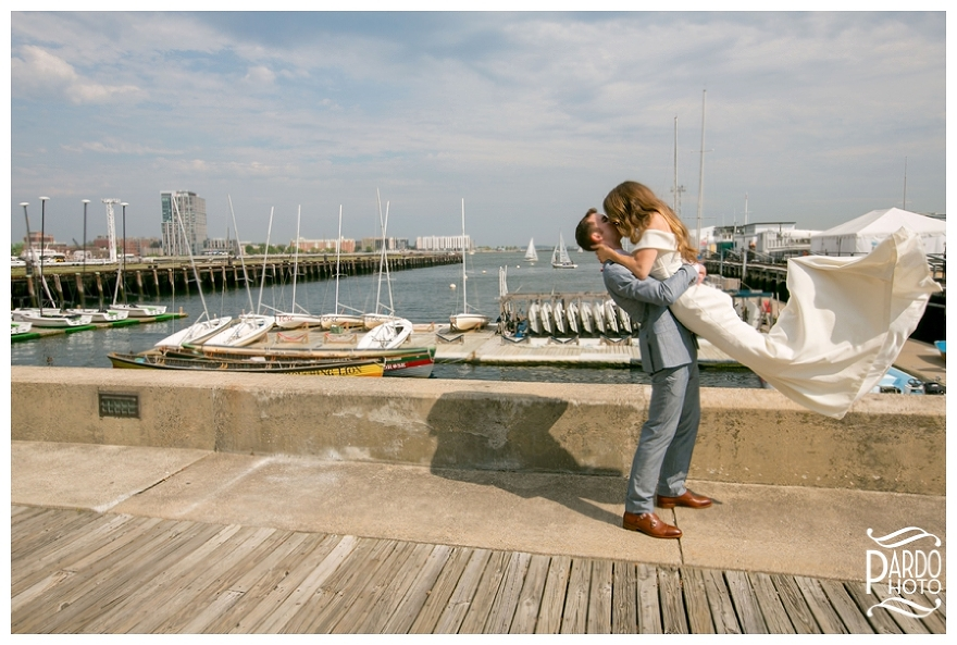 Pier 4 wedding pardo photo
