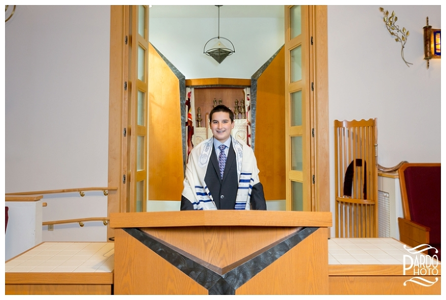 Temple Chanai Shalom Bar Mitzvah Pardo Photography