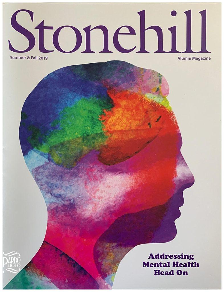 stonehill alumni magazine pardo photo