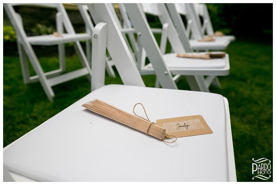 Backyard wedding Massachusetts Nick Pardo photo