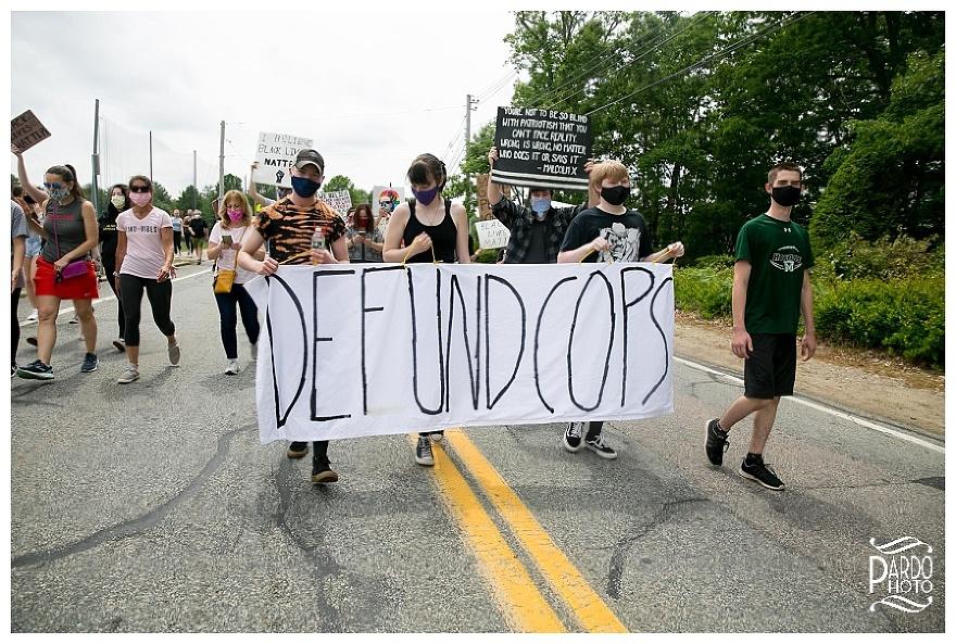 mansfield protests nicki pardo photo